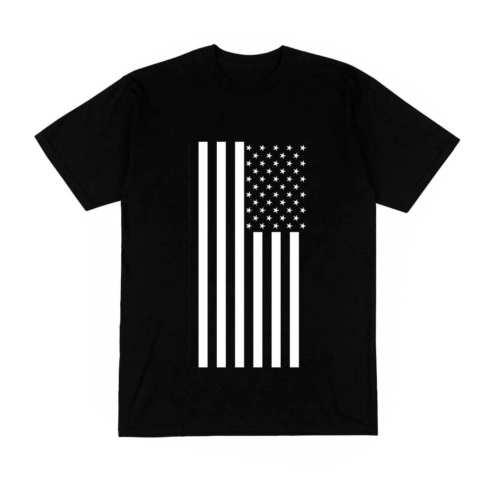 T-shirt Men Flags United States United States Flags National Silver Rap Jay Z Trap Fashion New Brand-Clothing T Shirts Top Tee image