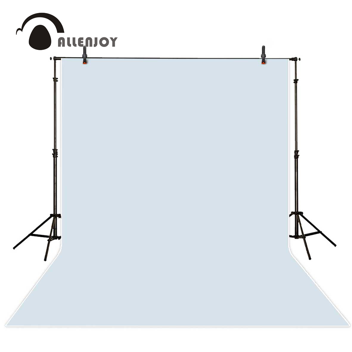 Allenjoy photographic background Solid Gray Pure Color photo backdrop professional portrait Photography studio prop vinyl fabric