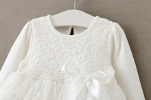baby girl dress gowns long sleeves for 1 year
