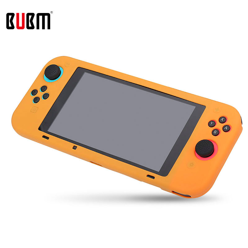 BUBM Silicone Case Cover For SWITCH One-piece Or Not One-piece Colorful Protector Cover For SWITCH