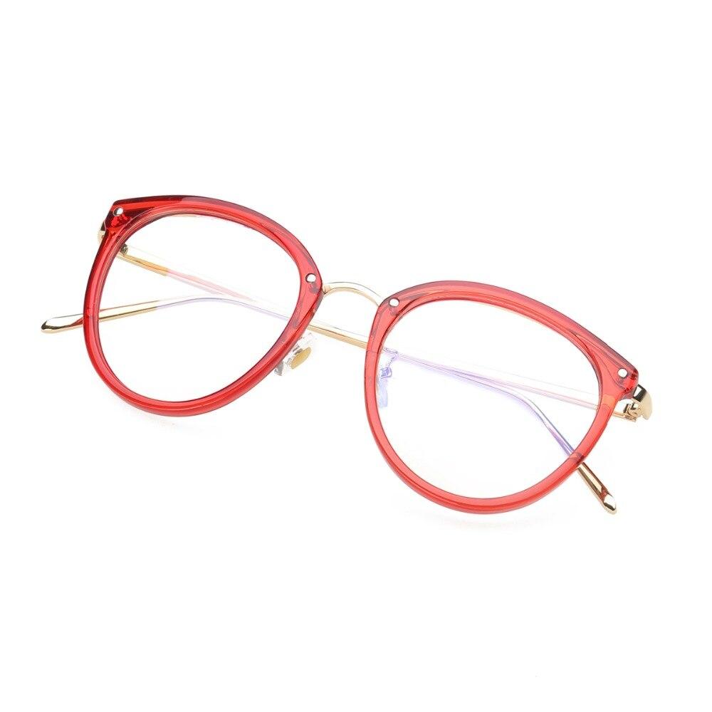 Eyeglasses Eyewear Frame Fashion Sort Vintage Metal Optical Frame - Beklædningstilbehør - Foto 5