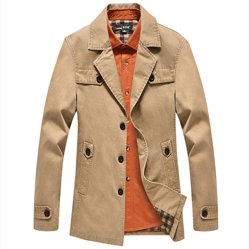 Men's Classic Vintage Blazer Cotton Blend Casual Artisan Safari Coat Blazer Jacket