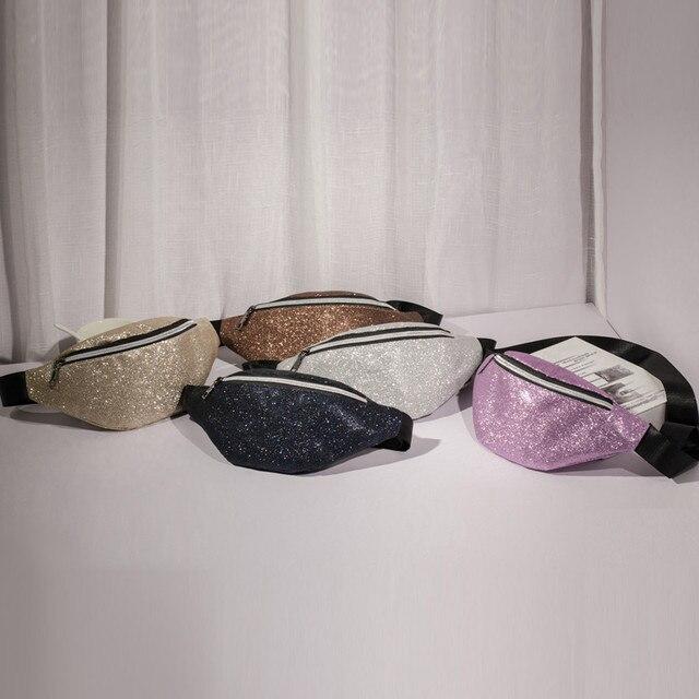 Лолита сумка корейский сумка Голограмма сумка модные женские украшенные блестками плеча груди sac дангер