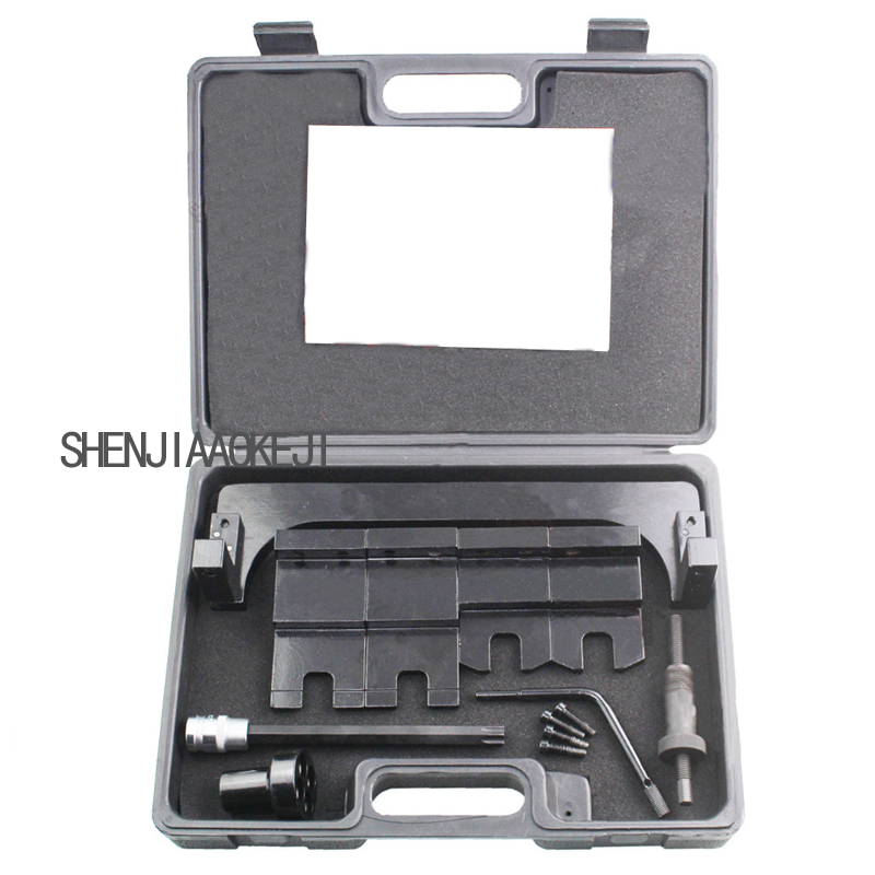 1 set Adjust the tools camshaft, Mini B38 A12 A15 Engine B48A20 B58 / 3.0T Engine Camshaft Tool Set Portable hardware toolbox