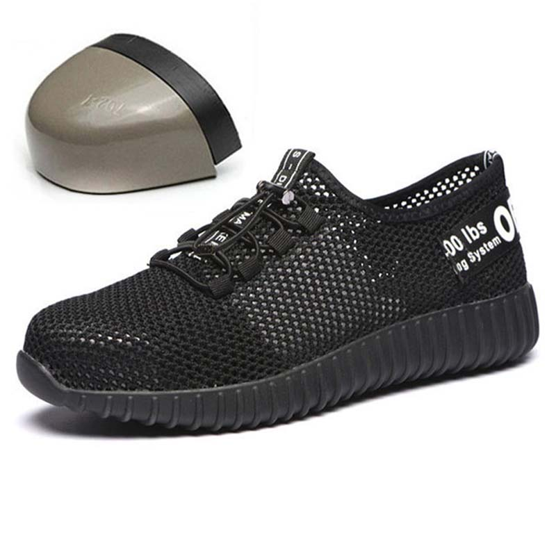 JUNSRM Men Safety Shoes Breathable Summer Boots women Anti-smashing steel toe caps Anti-piercing Mesh mens work Shoes 36-46JUNSRM Men Safety Shoes Breathable Summer Boots women Anti-smashing steel toe caps Anti-piercing Mesh mens work Shoes 36-46