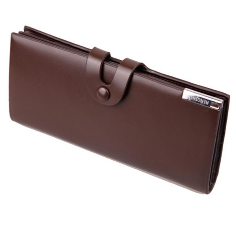 Long Wallet Men Business Wallets Money Clutch bag Leather Coin Credit/ID Card Holder Billfold Purse Wallet Male carteira 228# семена
