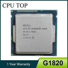 Intel celeron g1820 2.7 ghz 2 m cache processador cpu de núcleo duplo sr1cn lga1150 bandeja