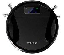 VENLIGO G3 Умный Робот Пылесос для Домашнего 6 см Ультра-тонкий 500 МЛ пылесборник 1000 PA Эффективным Clean HEPA Датчик