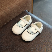 First Walker Baby Girl Shoes kids Mary Jane flats dress Genuine Leather