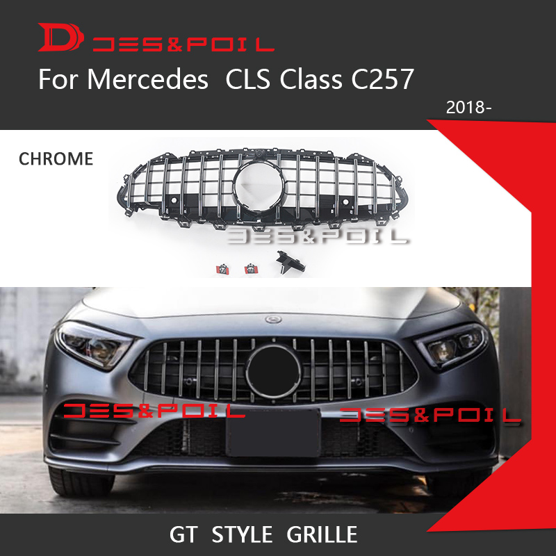 New CLS C257 GT Grill For Mercedes CLS Class C257 Facelift