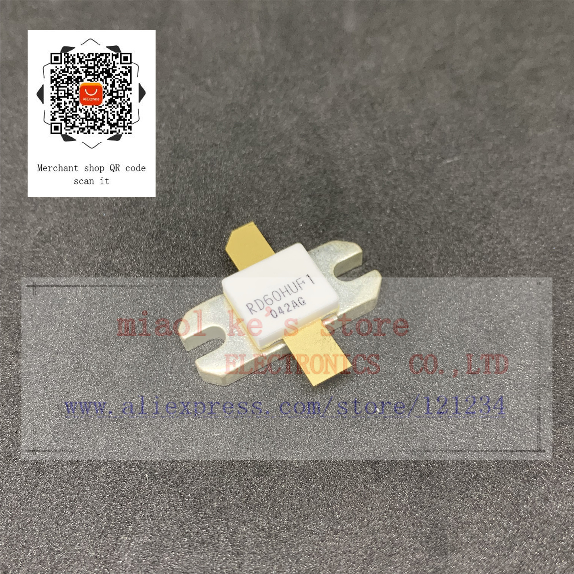 nd60huf1 - 100%New original: RD60HUF1 RD60HUF1-101 - Silicon MOSFET Power Transistor 520MHz 60W
