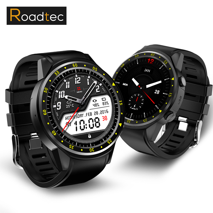 ROADTEC smart watch gps sport watch bluetooth Heart Rate Monitor smartwatch  sim card montre connecte android wearable devices roadtec smart watch with sim card gps watch montre connected phone android wearable devices women men waterproof smartwatches