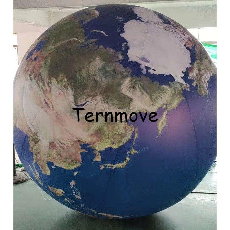 Terre gonflable, grands globes gonflables du monde à vendre globe gonflable livraison gratuite éducation géographique publicité jouet - 4