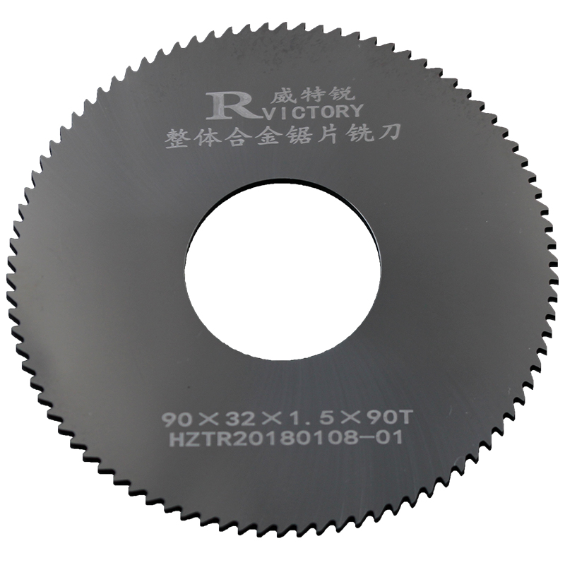 1Pc Saw Blade 90mm Circular Tipped Saw Blade Thickness 0.6mm to 3mm 90T Solid Carbide Slitting Saw Slotting Milling Cutter 12 72 teeth 300mm carbide tipped saw blade with silencer holes for cutting melamine faced chipboard free shipping g teeth