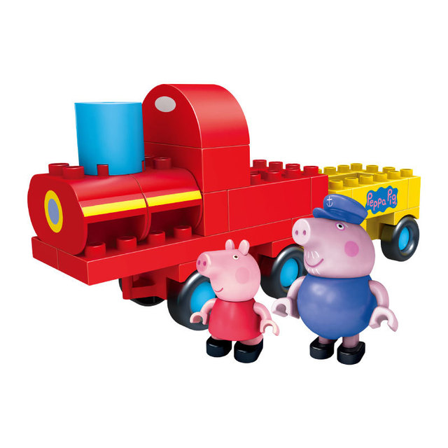 Peppa Pig Class Room Buiding / Train Blocks Toy