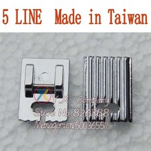 1 piece Good quality Domestic Sewing Machine presser foot 742-5 for Singer Brother Janome Toyota 1pc teflon home sewing machine presser foot good quality