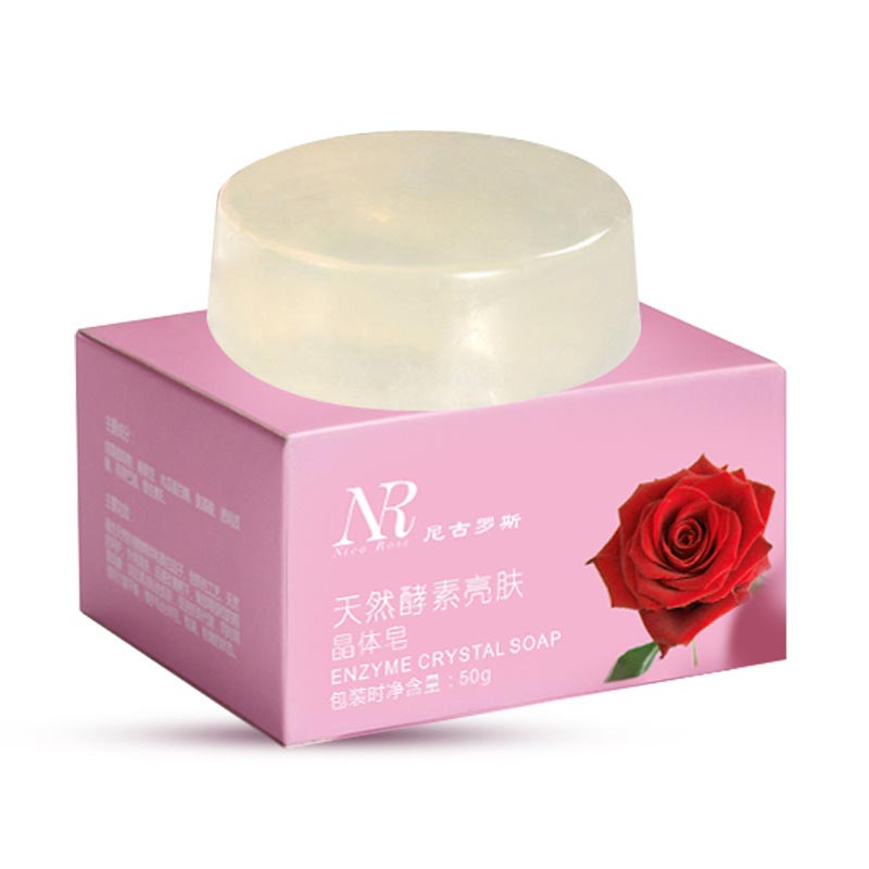 Natural Enzyme Crystal Soap Nipples Intimate Private Whitening Pink Lips Nipples Body Whitening Soap Natural Skin Lightener