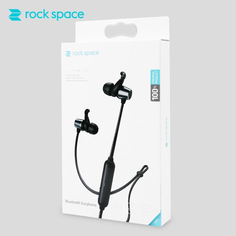 ROCK Bluetooth Earphones In-Ear Magnetic Neckband Headphone Sweat Waterproof For Running Budget Wireless Sleep Headsets 6