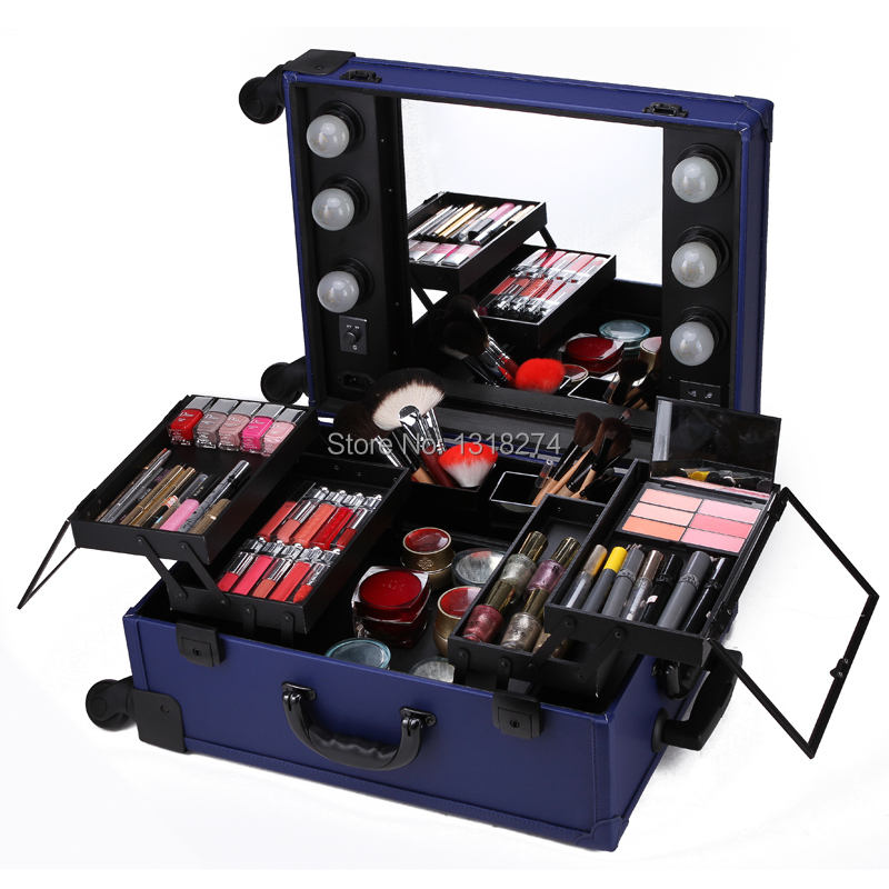 Makeup Travel Cases With Lights