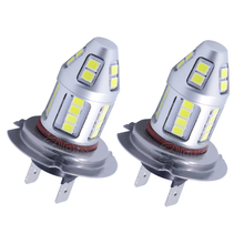 2 x High Power light h4  H7 LED Light 30w 2835 Led Chip 30SMD Fog Light Headlight Driving DRL Car Light Auto Lamp Bulb Fog lamp стоимость