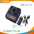 Chargeurs de batterie d'outils électriques pour batteries Dewalt 7.2 V-18 V ni-cd et Ni-MH  y compris adaptateur externe comme alimentation