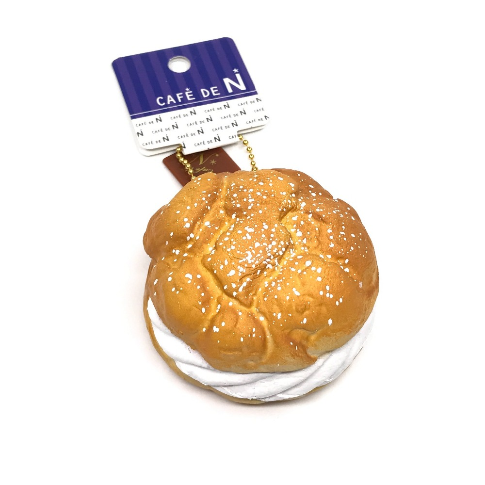 Cafe De N Squishy Package : Original Japan NIC Cafe de n Cream puff squishy Slow Rising Original Package Kid toy squishy ...