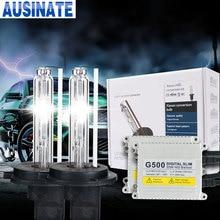 Ксенон H7 G500 55 W лампа переменного тока лампы hid комплект H1 H3 H4 H7 H11 9005 9006 4300 K 5000 k 6000 K 8000 K HID ксеноновая лампа лампочка
