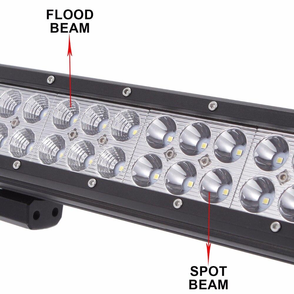 45 Inch LED Work Light Bar Offroad 12V 24V Car Truck SUV Trailer Wagon 4X4 4WD Pickup Van Camper ATV RZR Combo UTE Driving Lamp