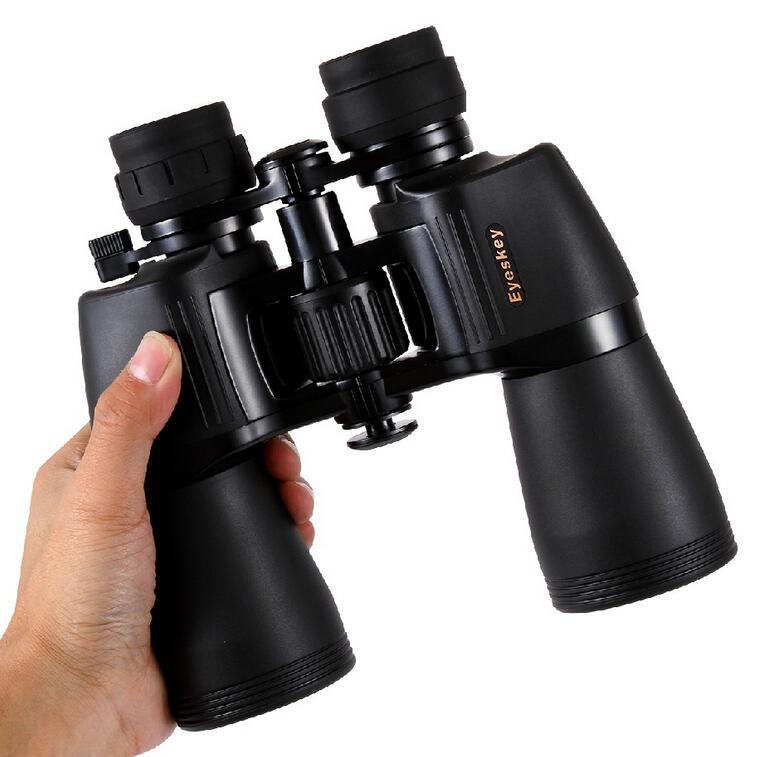 Jumelles haute puissance Zoom 10-22x50 jumelles Bak4 Porro Prism w/étui de transport et sangle nouvelles jumelles haute puissance
