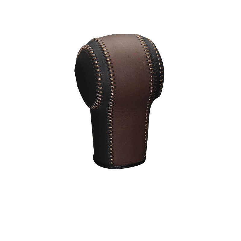 Case ppc Genuine Leather shift knob cover For Nissan X-Trail Qashqai AT car cover on the gear shift knob gear stick cpr pen