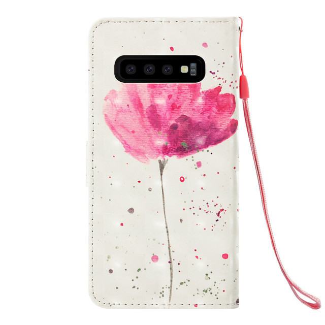 Phone Case sFor Samsung Galaxy S10E S10 Case Flip PU Leather Magnetic Wallet Cover For Samsung Galaxy S10 Plus S 10 Case Cover 2