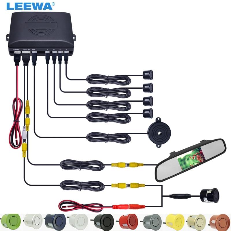 LEEWA 3 in 1 Car 4.3