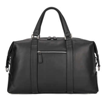 Genuine Leather Travel Bag European Style Design Cowhide Women Men Weekend Bag Handbag 6007A