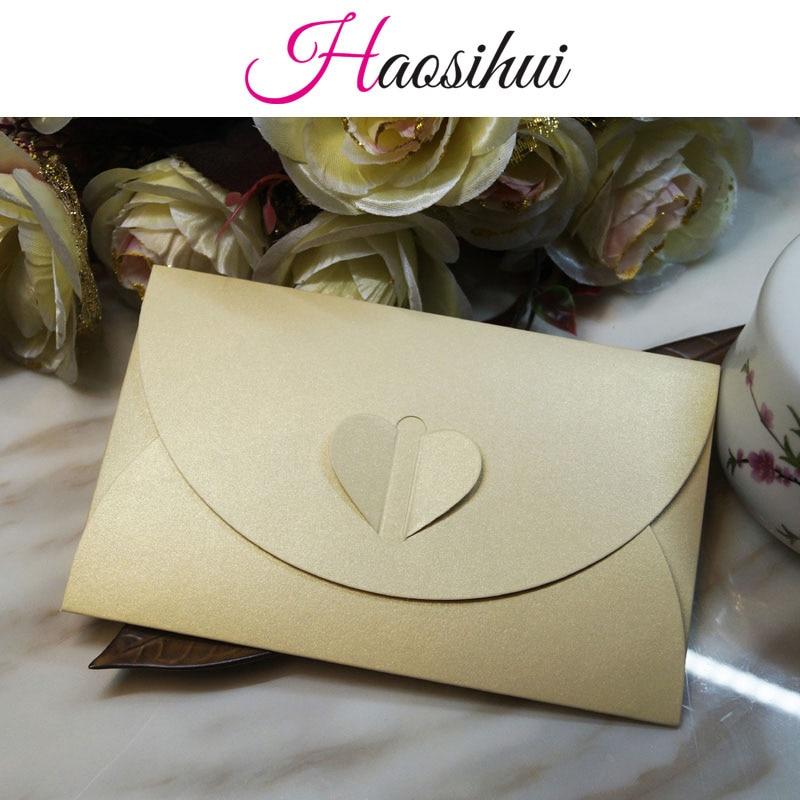 100pcs/set 9 colors envelopes for invitations weeding envelope 12 ...