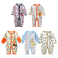 5 Pcs/Lot Spring Long Sleeve Cartoon Kawaii Baby Rompers Cotton Soft Onesies Baby Clothes 6M 9M 12M 18M Toddler Romper Boys Girl