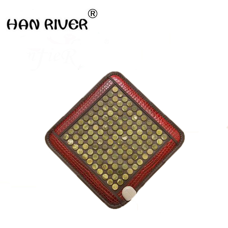 HANRIVER New fashion home massage cushion chair cushion heating pad germanium stone cushion tomalin ochre buffer's office new fashion home massage cushion chair cushion heating pad germanium stone cushion tomalin ochre buffer s office