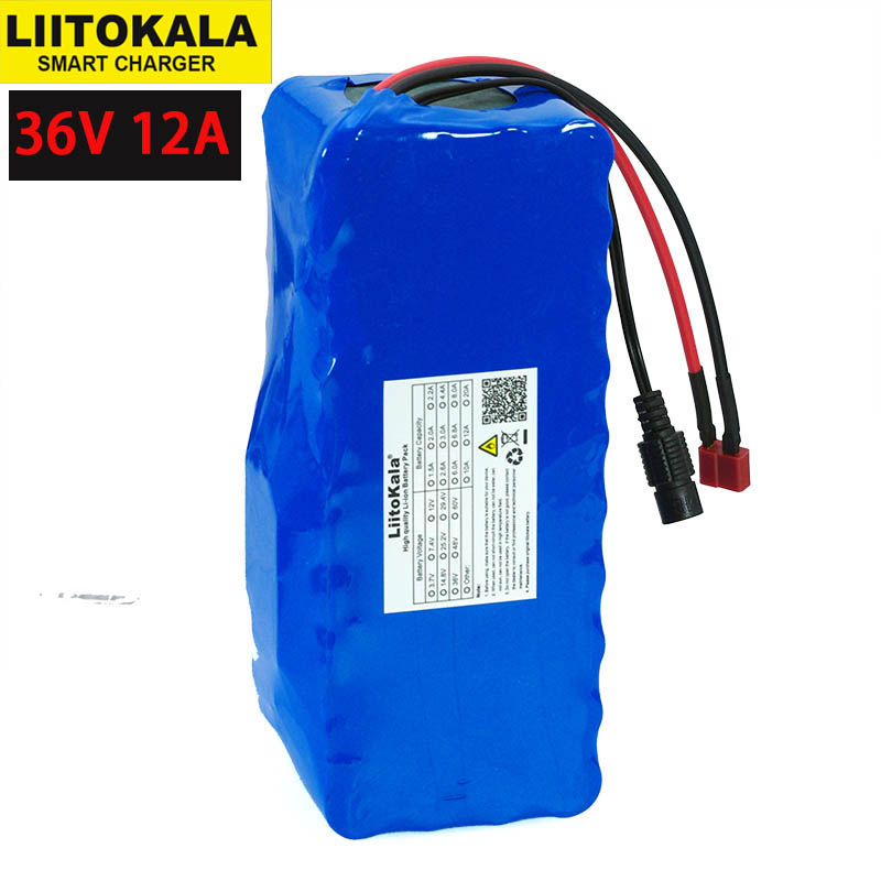 Image 4 - 36V 12Ah 10A 10.4ah 18650 Lithium Battery pack 12000mAh Motorcycle Electric Car Bicycle Scooter with BMS+ 42v 2A Charger-in Replacement Batteries from Consumer Electronics