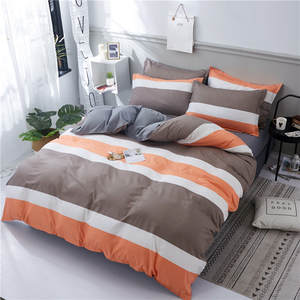 best top brown and white striped comforter brands