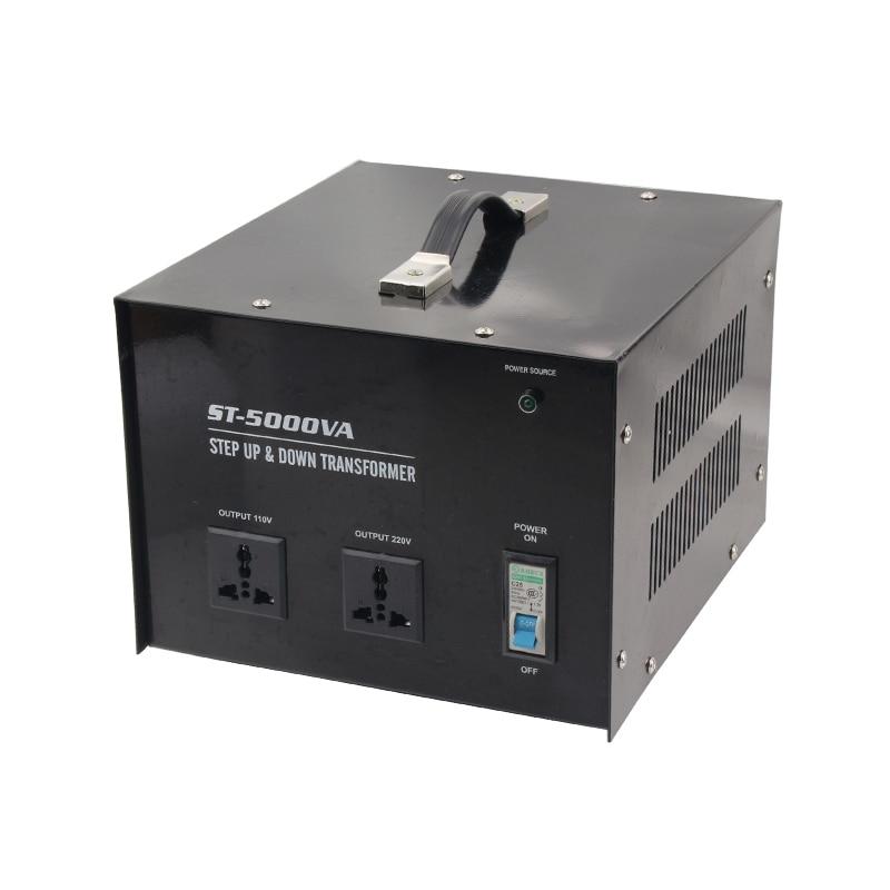 5000W Step up&down Transformer Home Use 220V-110V or 110-220V Output Voltage Converter 1 pc 1500w 1 5kva step down voltage converter transformer 220v 240v to 110v 120v