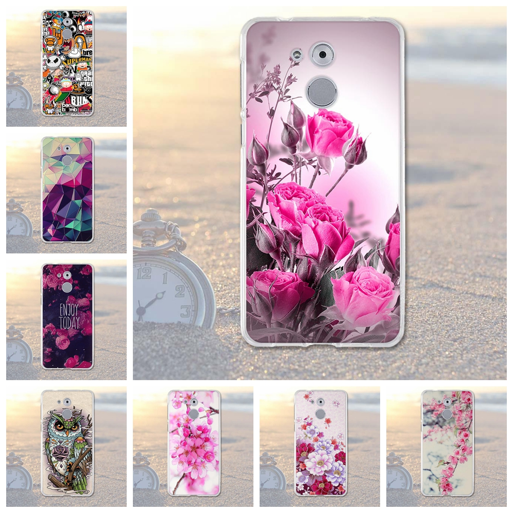 for Huawei Enjoy 6S Honor 6C Case Luxury Relief Printing Back Cover for Huwawei Enjoy 6s 6 S Case Honor 6C Nova Smart Phone Case