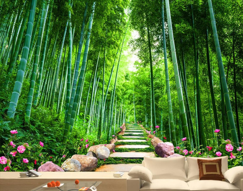 Wallpaper Scenery For Walls Custom 3d Background