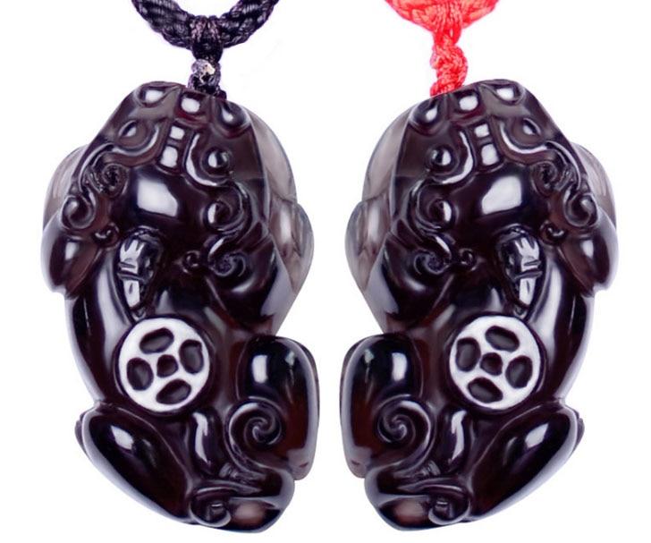 Ожерелье с подвеской из натуральных черных бриллиантов ювелирные изделия