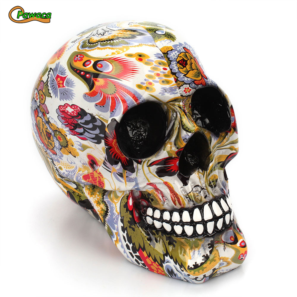 Halloween, Skeleton, Decorative, Resin, Decoration, Horror