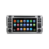 KLYDE 6.2 2 Din Android 8.1 Car Radio For Hyundai SANTA FE 2005 Car Audio 2+16GB Multimedia Player Car Stereo DVD Mirror L