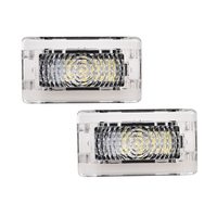 1 x 1 Pcs Ultra-bright WHITE LED (Clear Lens) High Output Interior Light Car Door Lamp Puddle Trunk Light for Tesla Model 3 S X (2)