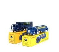 SET 1:43 Dinky Toys 32A TRACTEUR PANHARD ET & 32CB TRACTEUR PANHARD AVEC Binky Toys fournir