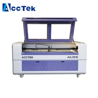 Wood Plexiglass Fabric Paper Laser Cutter Plotter Engraving Materials With Reci Laser tube Cutter Laser AKJ1610 AKJ1390