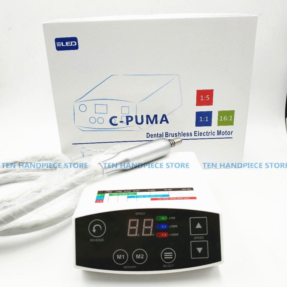 2018 di buona qualità marchio COXO Dental LED Sistema Brushless Mini micro motore Elettrico C-PUMA Nuovo Arrivo elettrico micromotore