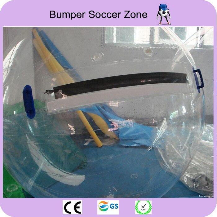 Бесплатная доставка 0.8 мм ТПУ 2.0 м Dia надувной Гуляя водный шар zorb ходить по воде ходить шарик воды