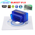 2017 Car Diagnostic Universal Scanner Super ELM 327 Bluetooth V1.5 Hardware Wireless Android MINI ELM327 Multi-Language
